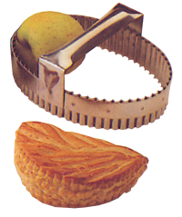 French Made 153006 Pastry Cutter Apple Turnover